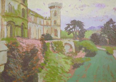 Eastnor Castle Terrace