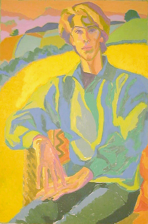 Boy on Yellow Field