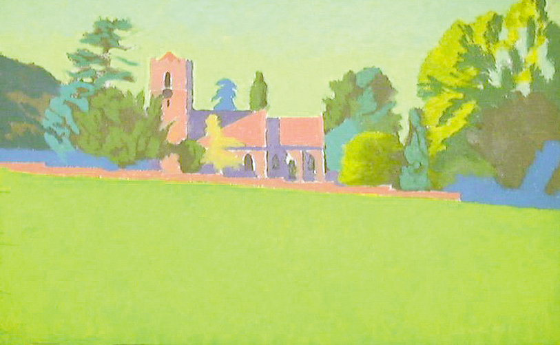 Eastnor Church