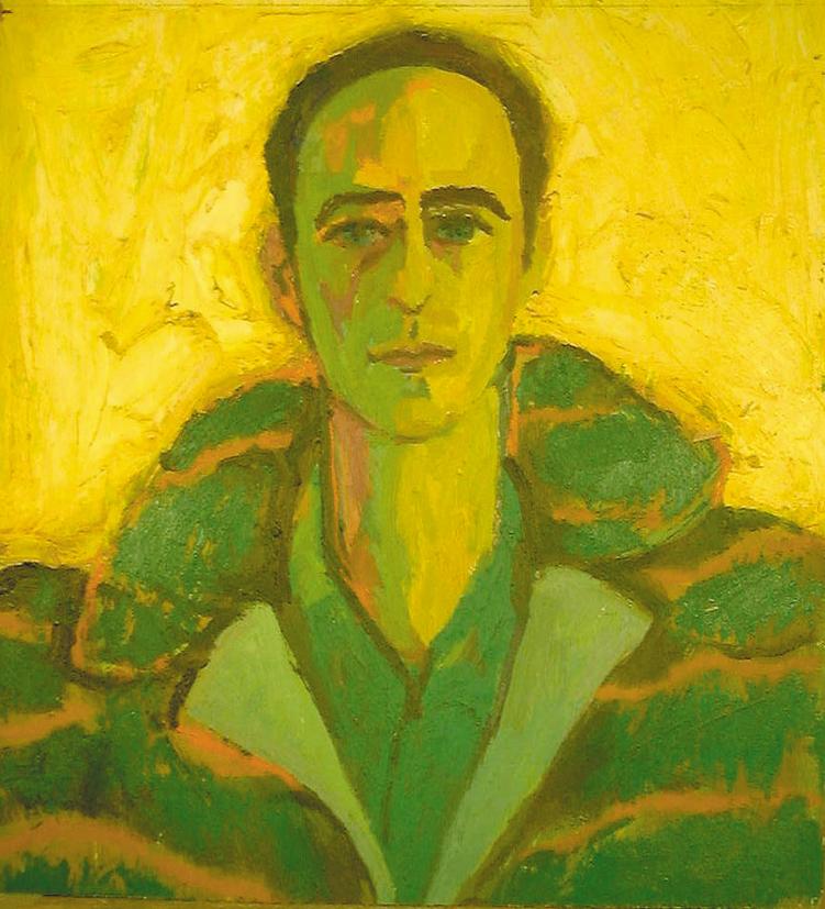 Dainis in Green Coat