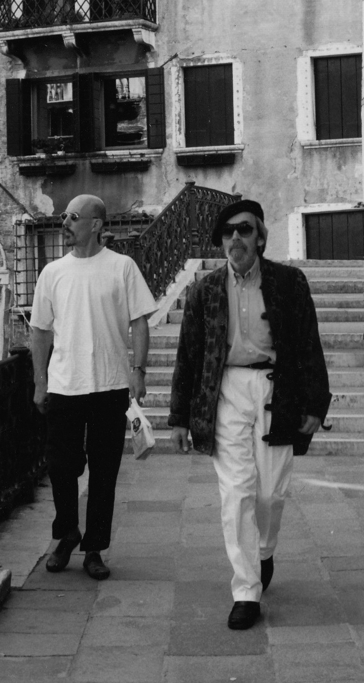 with Charles shearer | Venice 2002