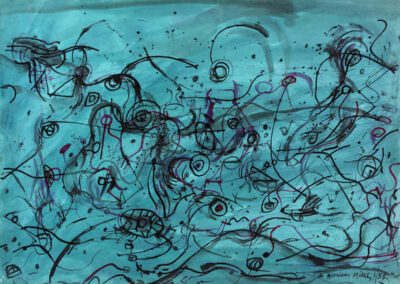 Blue Abstract  '58