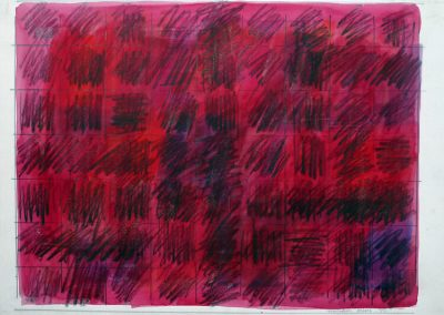 Squares on Red