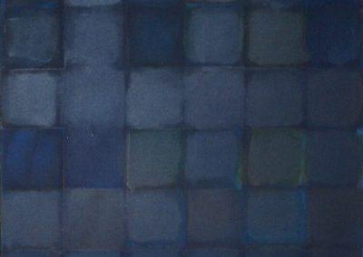 Squares Blue Black