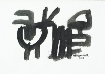 Monochrome Abstract 1966