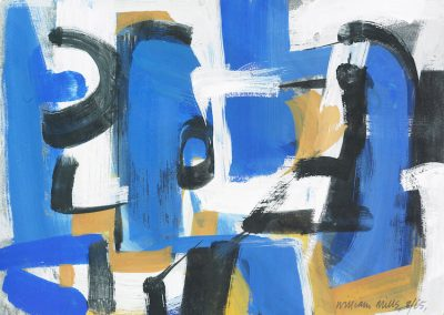 Blue Abstract I '65