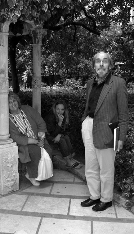 with Elizabeth Organ and Eugene Fisk