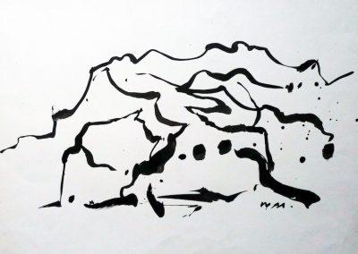 Ink Landscape – Spain