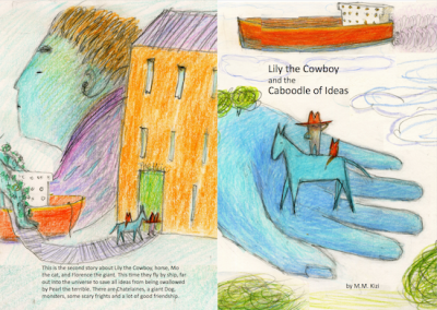 7 Lily & the Caboodleof Ideas front & back cover