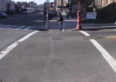 Line Down Manhattan (Crossing Isham St by 211 West & Broadway) 2003-4