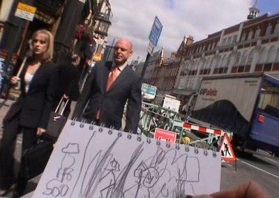 Walking Drawing 2002